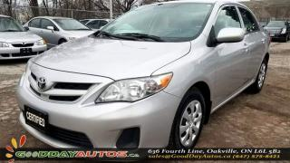 Used 2012 Toyota Corolla LE|LOW KM|NO ACCIDENT|CRUISE CONTROL|CERTIFIED for sale in Oakville, ON