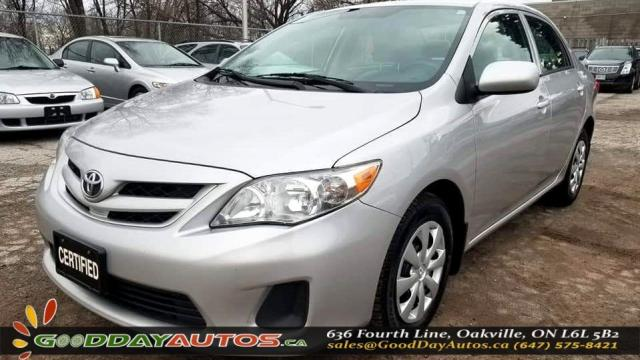 2012 Toyota Corolla LE|LOW KM|NO ACCIDENT|CRUISE CONTROL|CERTIFIED