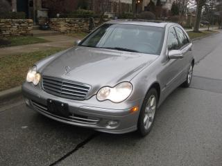 Used 2005 Mercedes-Benz C-Class AWD, 4MATIC, WELL MAINTAINED, CERTIFIED, A1 CONDIT for sale in Toronto, ON