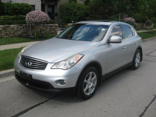 Used 2008 Infiniti EX35 AWD, CERTIFIED, LEATHER, A1 CONDITION for sale in Toronto, ON