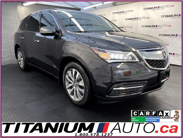 2016 Acura MDX AWD+GPS+Camera+Blind Spot+Radar Cruise+Lane Assist