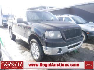 Used 2006 Ford F-150 LARIAT 4D SUPERCREW 4WD for sale in Calgary, AB