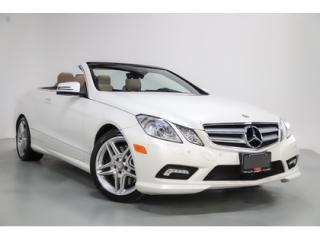 Used 2011 Mercedes-Benz E-Class E550   V8   AMG   CONVERTIBLE   NAVI   AIR SCARF for sale in Vaughan, ON