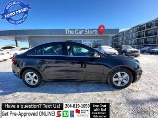 Used 2015 Chevrolet Cruze 4dr Sdn 2LT leather SUNROOF BACKCAM HEATED SEAT for sale in Winnipeg, MB