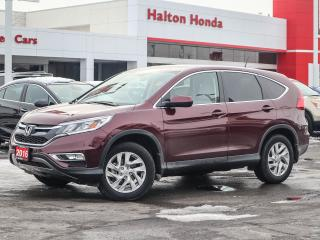 Used 2016 Honda CR-V EXL|NO ACCIDENTS|SERVICE HISTORY ON FILE for sale in Burlington, ON