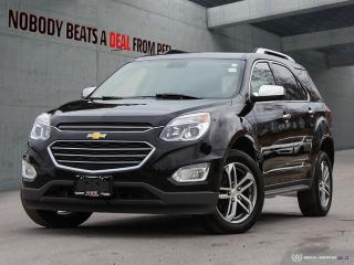 Used 2017 Chevrolet Equinox Premier*Cam*Rem Start*Heated Seats* for sale in Mississauga, ON