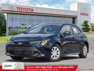 New 2020 Toyota COROLLA HATCHBACK CVT FA20 for sale in Whitby, ON