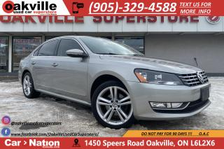 Used 2012 Volkswagen Passat 2.5L HIGHLINE | NAVI | LEATHER | SUNROOF | CRUISE for sale in Oakville, ON
