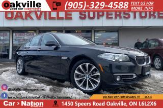 Used 2015 BMW 5 Series 528i xDrive | NAVI | B/U CAM | HTD SEATS | SUNROOF for sale in Oakville, ON