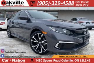 Used 2019 Honda Civic Sedan LX | MANUAL | B/U CAM | CARPLAY | HTD SEATS for sale in Oakville, ON