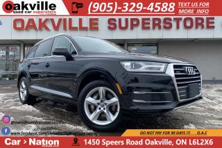Used 2017 Audi Q7 KOMFORT | NAVI | PANO ROOF | HTD SEATS | B/U CAM for sale in Oakville, ON