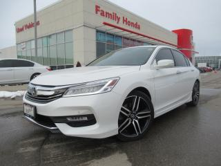 Used 2016 Honda Accord Sedan 4dr I4 CVT Touring | NAVIGATION | PUSH START | for sale in Brampton, ON