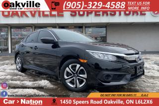 Used 2017 Honda Civic Sedan LX | HONDA SENSE | B/U CAM | HTD SEATS for sale in Oakville, ON