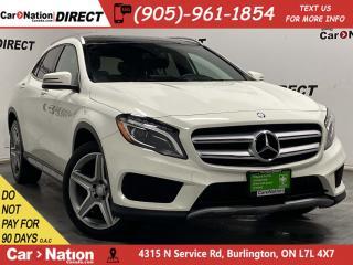 Used 2017 Mercedes-Benz GLA GLA 250 4MATIC| DUAL SUNROOF| NAVI| for sale in Burlington, ON
