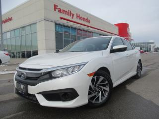 Used 2016 Honda Civic Sedan 4dr CVT EX | SUNROOF | PUSH START | for sale in Brampton, ON