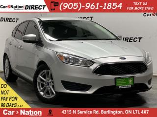 Used 2016 Ford Focus SE| LOCAL TRADE| BACK UP CAMERA| for sale in Burlington, ON