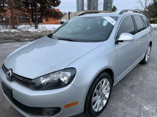 Used 2013 Volkswagen Golf Wagon Comfortline TDI PANORAMIC SUNROOF NEW TIRES AND BR for sale in Concord, ON