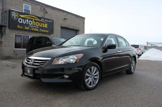 Used 2012 Honda Accord Sedan EX-L V6 NAVI SUNROOF BACKUP CAMERA WINTER TIRES ON WHEELS for sale in Newmarket, ON