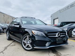 Used 2017 Mercedes-Benz C-Class |360 CAMERAS|BURMESTER SPEAKERS|NAVIGATION|PANORAMIC! for sale in Brampton, ON