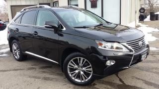 Used 2013 Lexus RX 350 AWD - LEATHER! NAV! BACK-UP CAMERA! ACCIDENT FREE! for sale in Kitchener, ON