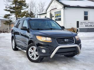 Used 2010 Hyundai Santa Fe LowKms Limited Sunroof Nav Bckpcam Power Heated Leather BLTH for sale in Sutton, ON