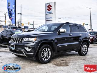 Used 2014 Jeep Grand Cherokee Limited for sale in Barrie, ON