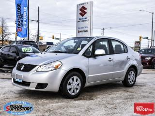 Used 2011 Suzuki SX4 ~ONLY 110,000 KM ~Power Windows/Locks/Mirrors ~A/C for sale in Barrie, ON