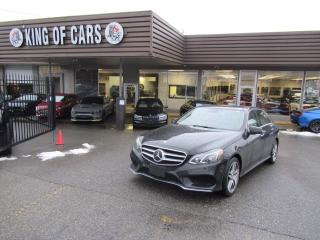 Used 2016 Mercedes-Benz E-Class E400 4MATIC for sale in Langley, BC