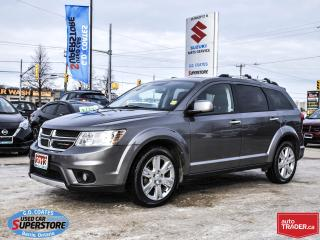 Used 2013 Dodge Journey R/T AWD ~7 Passenger ~Heated Seats/Wheel ~Camera for sale in Barrie, ON