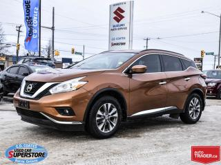 Used 2016 Nissan Murano SV AWD ~Nav ~Cam ~Panoramic Roof ~Heated Seats for sale in Barrie, ON