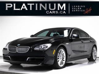 Used 2013 BMW 6 Series 650i xDrive Gran Coupe, AWD, NAV, CAM, PREMIUM PKG for sale in Toronto, ON