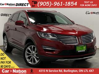 Used 2017 Lincoln MKC Select| AWD| BLIND SPOT DETECTION| NAVI| for sale in Burlington, ON