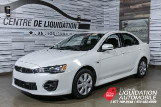Used 2016 Mitsubishi Lancer ES+JANTES+BLUETOOTH for sale in Laval, QC