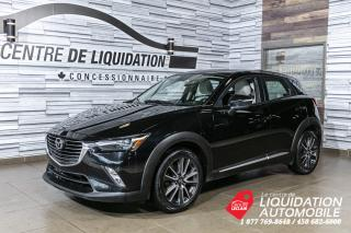Used 2016 Mazda CX-3 GT+TOIT+AWD+BLUETOOTH for sale in Laval, QC