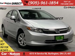 Used 2012 Honda Civic LX| LOCAL TRADE| ONE PRICE INTEGRITY| for sale in Burlington, ON