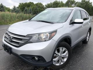 Used 2014 Honda CR-V EX-L Touring AWD for sale in Cayuga, ON