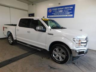 Used 2019 Ford F-150 LARIAT CREW SUNROOF LEATHER NAVI for sale in Listowel, ON