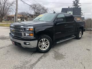 Used 2015 Chevrolet Silverado 1500 4WD Crew Cab Heated Front Seats Big Screen Radio for sale in St Catharines, ON
