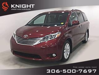 Used 2015 Toyota Sienna XLE | Leather | Sunroof | Navigation for sale in Regina, SK