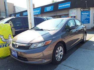 Used 2012 Honda Civic LX for sale in Whitby, ON