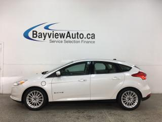Used 2015 Ford Focus Electric - HTD LEATHER! NAV! ALLOYS! 41,000KMS! for sale in Belleville, ON