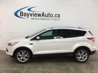 Used 2015 Ford Escape Titanium - 4WD! PANOROOF! HTD LEATHER! NAVIGATION! SYNC! 50,000KMS! for sale in Belleville, ON