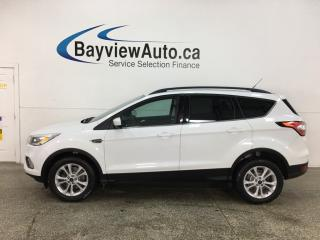 Used 2017 Ford Escape - 4WD! NAV! HTD SEATS! PWR GROUP! for sale in Belleville, ON