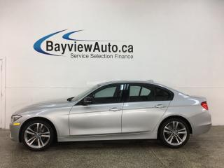Used 2015 BMW 320 i xDrive - LEATHER! NAV! SUNROOF! PWR HTD SEATS! for sale in Belleville, ON