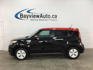 Used 2016 Kia Soul EV EV - AUTO! ELECTRIC! NAV! HTD SEATS! + MUCH MORE! for sale in Belleville, ON