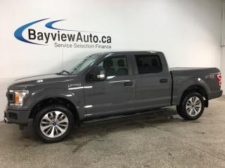 Used 2018 Ford F-150 XLT - 2.7L ECOBOOST! BUCKETS! CONSOLE! PAINTED BUMPERS! for sale in Belleville, ON