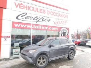 Used 2017 Toyota RAV4 LE**AWD(4X4)**CAMERA DE RECULE**BLUETOOTH** 90 JOURS SANS PAIEMENTS (DÉTAILS EN CONCESSION) for sale in Montreal, QC