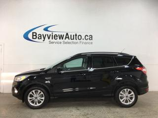 Used 2017 Ford Escape SE - 4WD! HTD LEATHER! NAV! PANOROOF! for sale in Belleville, ON