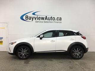 Used 2017 Mazda CX-3 GT - AWD! HTD LEATHER! ROOF! for sale in Belleville, ON