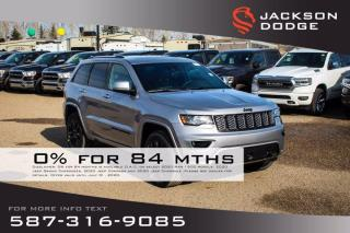 New 2020 Jeep Grand Cherokee Altitude V6 | Heated Seats | Sunroof | Navigation for sale in Medicine Hat, AB